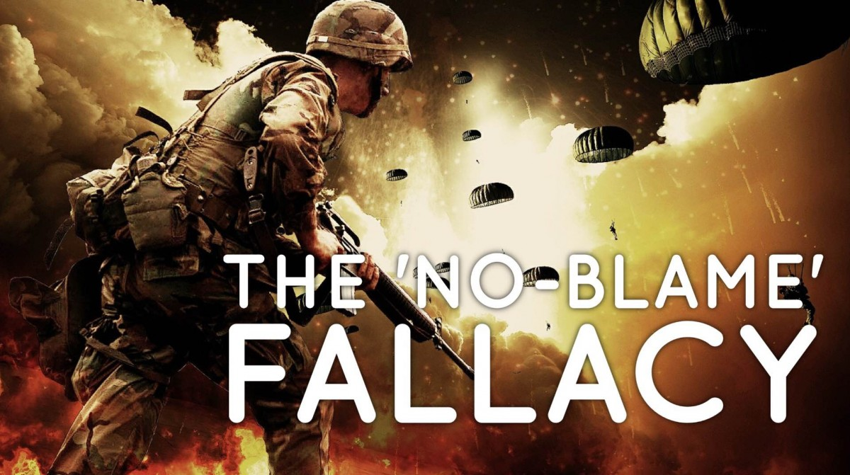 """The no-blame fallacy"""
