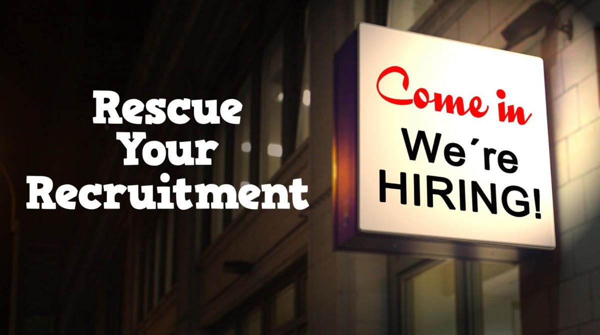 Rescue Your Recruitment