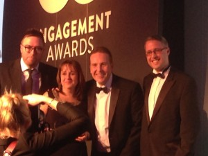 Worthy winners, the NHS Business Services Authority